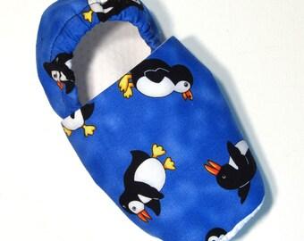 Penguin Slippers Child L