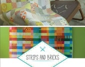 Strips and Bricks Quilt Pattern