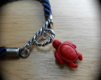 Stone Bracelet - Stone Honu Nautical Toggle Jewelry - TRAVELLER
