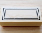 Rubber stamp - Outer frame
