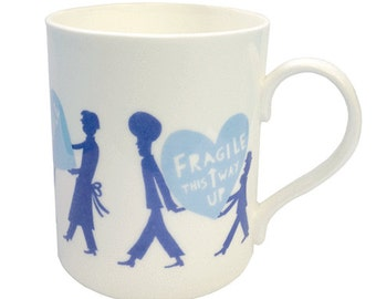 Fragile Mug (Blue)
