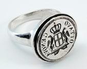 Genovese Ring - silver