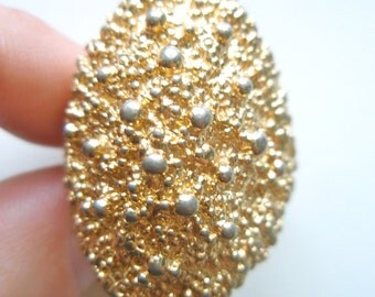 Vintage 1960's Napier Ring - Gold Nuggets