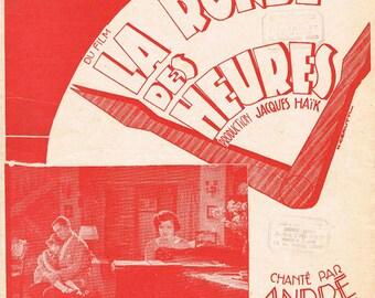 Music Sheet.Paris.Antique.Vintage.Jazz,Original.Home Deco.Art.Musician.Artist.Paris.Office.Den.retro.gift.unique.french.valse.european.dance