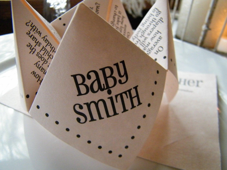 Cootie Catcher Wedding Invitation: Stationary & Invitations