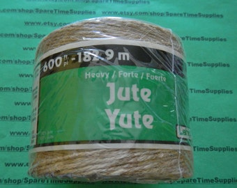 Leigh Group - #455 Jute - heavy weight - 600 ft - 1 pcs