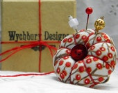 Red Berries Pincushion Ring