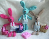 Bunnie...PDF Crochet Pattern