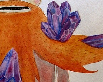 the Crystal Beard - PRINT