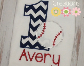 Baseball Birthday shirt, Baseball shirt, sports Birthday Shirt, Boy birthday shirt, 1st, first birthday, 2nd birthday, sew cute creations