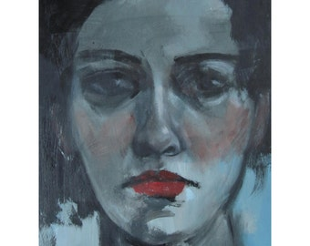 """SALE Original Oil Painting """"Dilettante"""" by Amy Abshier Reyes"""