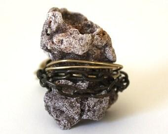 Stone Henge Ring that Rocks size 7