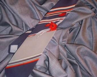 Vintage Pure Silk Leonard Necktie from Italy