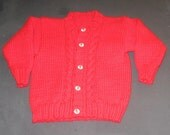 RESERVED for Korb - Boy & Girl Twin Cardigan Set