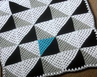 The Geo Crochet Baby Blanket Pattern