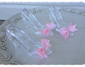Cinderella Princess Glass Slippers Set of Three for Birthday Party