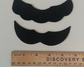 Oversized Mario and Luigi Inspired Mustache Set, Adhesive Mustaches, Halloween Costume, Halloween Accessory, Party Favors, Fake Mustache