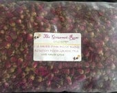 1 lb PINK ROSE BUDS Bud Tea Whole Boutons Rosebuds Dried Flowers Potpourri Bath Sachets Craft Crafting Botanicals Herbs Bulk Wholesale 16 oz