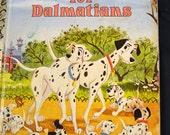 Vintage Children's Book 101 Dalmations Little Golden Book