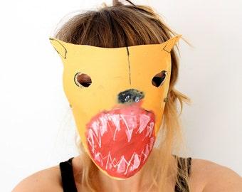 Bear Mask - Super Terrifyingly Scary Animal Mask - Kids Paper Mask - Childrens cut out diy kit - fancy dress