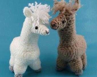 Alpaca - PDF amigurumi crochet pattern