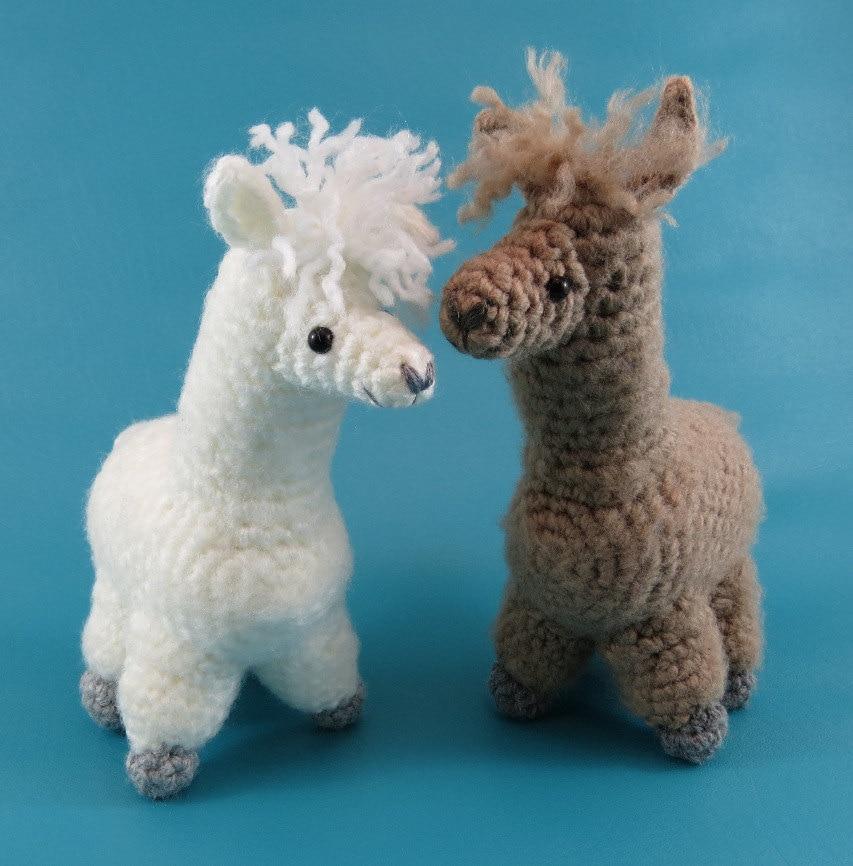 Alpaca - PDF amigurumi crochet pattern from edafedd on ...