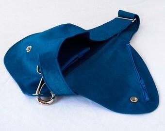 Belt Bag in Lustrous Royal Blue - Fanny Pack, Hip Bag
