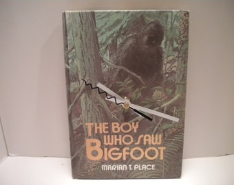 The Boy who saw Bigfoot book clock