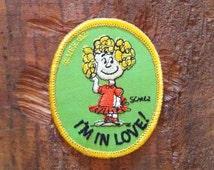 Vintage Peanuts Patch - Frieda - 70s, Snoopy, Comic, Comic Strip, Charles Schulz