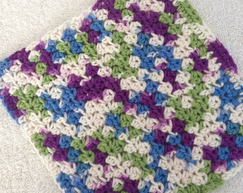 Crochet Dishcloth-Fruit Punch