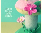 Cutest Tinnest Little Flower Pin Topper