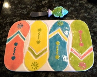 Flip Flop Cheese Tray