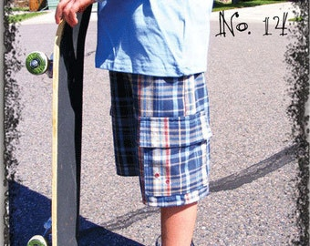 Cargo Shorts & Pants Sewing Pattern