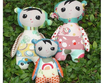 Sangsang Softie Sewing Pattern
