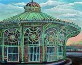 Carousel House, Asbury Park NJ - Print