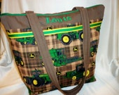 John Deere tractor country SALE 16% off diaper bag or tote Great for Dad's 4 prints 2 styles