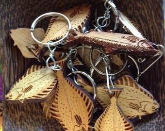 Wildfish cedar keychains