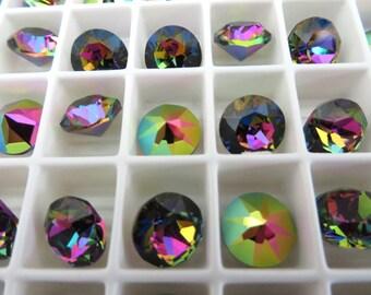 6 Vitrail Medium Swarovski Crystal Chaton Stone 1088 39ss 8mm