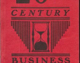 20th Century Business Opportunities ~ 1939 Book