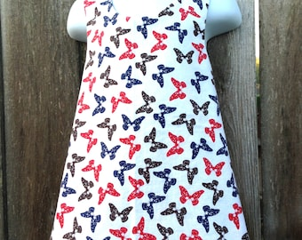 Butterfly Pinafore --- Reversible