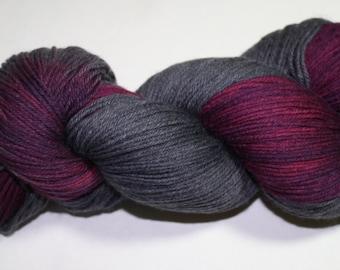 Midnight Dance Hand Dyed Sock Yarn
