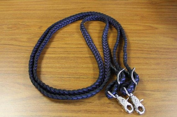 paracord 9 strand braided industruct horse reins 10 39