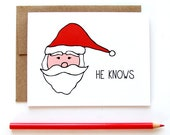 Simple Christmas Card - He Knows