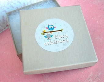 Add a gift box to your CHARM order with Tipsy Whimsey .. please read thoroughly before buying