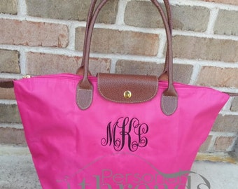Monogram Tote, Made to Order, Bridesmaids, Mother's Day, Bridal Showers, Teachers, Greek, Sorority
