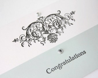 Crowning Glory Wedding Gift Card-Money or Voucher Holder