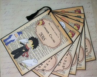 2018 HARRY POTTER Calendar - Perfect Holiday Gift - Stocking Stuffer - 5 x 7 monthly calendar - Unique Gift - HP 44600