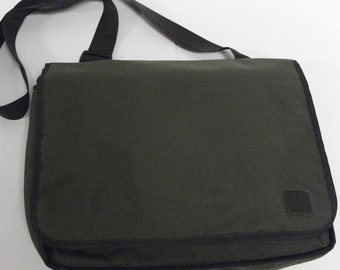 90s Vintage Swiss Army Messenger Crossbody Bag