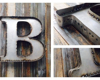 19 Inch Bare Steel Letter or Number