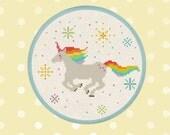Rainbow Unicorn. Best Seller Cross Stitch Pattern PDF Instant Download